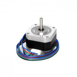 Шаговый двигатель Nema 17 42HD2037-01 с проводом для 3d принтера