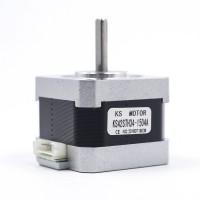 Шаговый двигатель Nema 17 42STH34-1504A с проводом для 3d принтера
