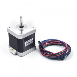 Шаговый двигатель Nema 17 42STH48-1684A с проводом для 3d принтера