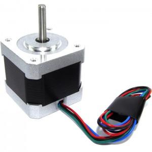 Шаговый двигатель Nema 17 JK42HS40-1304F с проводом для 3d принтера