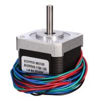 Шаговый двигатель Nema 17 JK42HS40-1704-13A с проводом для 3d принтера