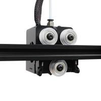 Ролик 24 мм OpenBuilds с подшипниками (прозрачный пластик) для станков ЧПУ, 3d принтера