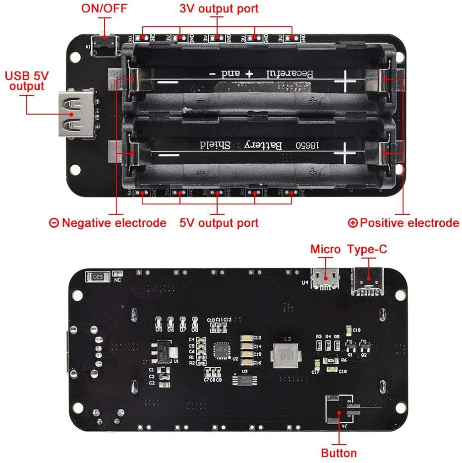 Конструкция Battery Shield V8